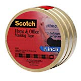 Scotch(R) Home and Office Masking Tape 3436-3