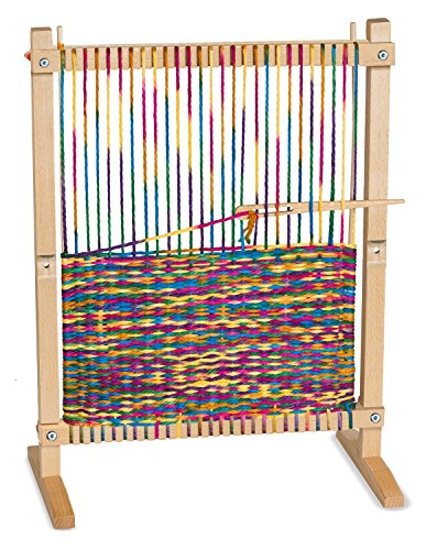 Melissa & Doug Wooden Multi-Craft Weaving Loom