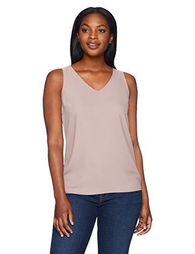 Lark and Ro women's sleeveless V-neck tank top