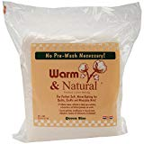 Warm Company Warm Company Warm & Natural Cotton Batting Queen Size 90″X108″ 2341