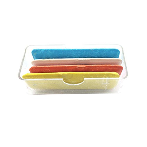 Tailor Chalk Fabric Markers for Sewing Fabric Chalk for Sewing Tailors Chalk 4 White, 3 Blue, 3 Yellow, 10 Pack Fabric Chalk Sewing Made in Canada Wax Based Tailors Chalk by SEWTCO