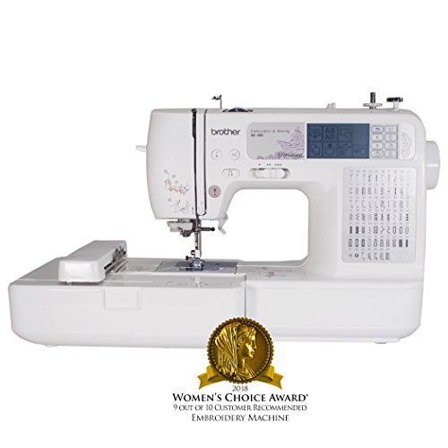 Brother SE400 combination sewing & embroidery machine