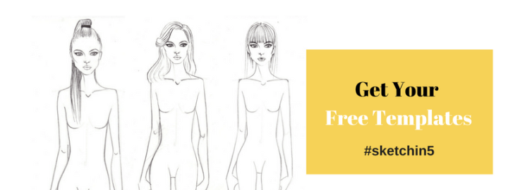 Free fashion design templates #sketchin5