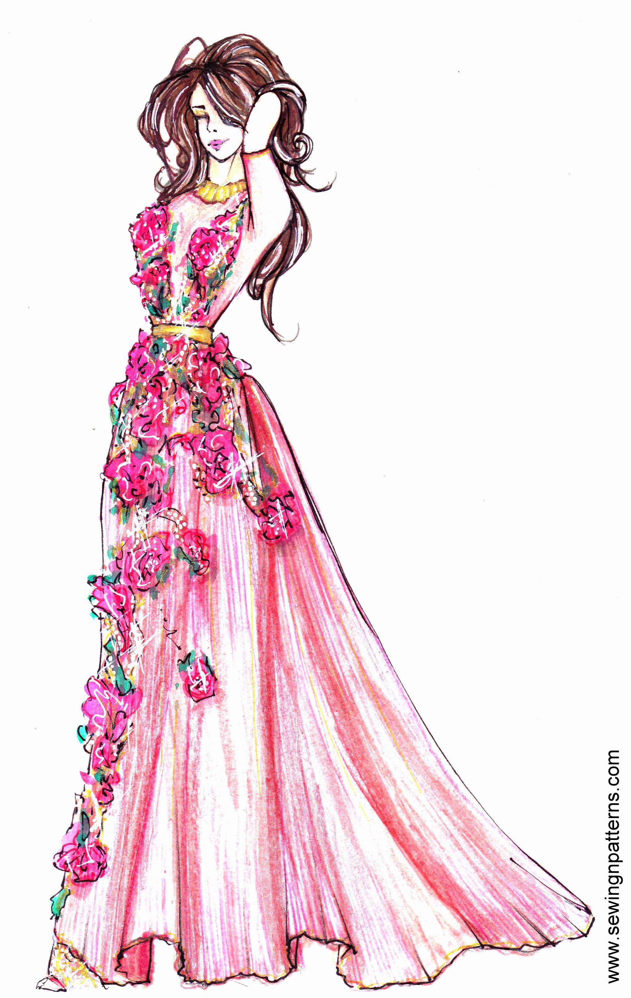 How to present fashion sketches to reach more people and get