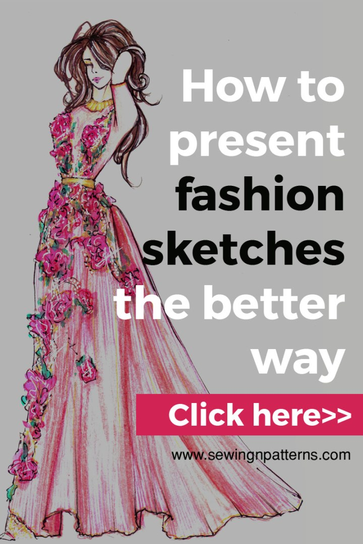 how to draw fashion sketches, fashion illustration techniques, fashion design.