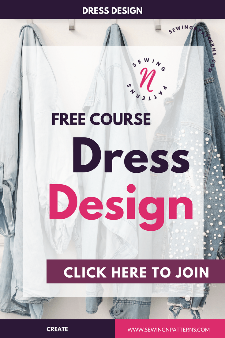 "Free 3 days course on how to desoign your own clothes. This is for sewing beginners, fashion designers, who loves to sew with sewing patterns, fashion illustrations, basically anyone who want to learn how to design clothes and be their own fashion designer. This course gives you the foundation, ideas and techniques on choosing the colors that actually suit you, understanding your body and designing clothes according to it. I even put some pattern making techniques to help you draft and create your own dress. "" I believe, designing your own clothes is not about beautiful clothes, it's about the clothes that actually suits you and turn you into beautiful you."