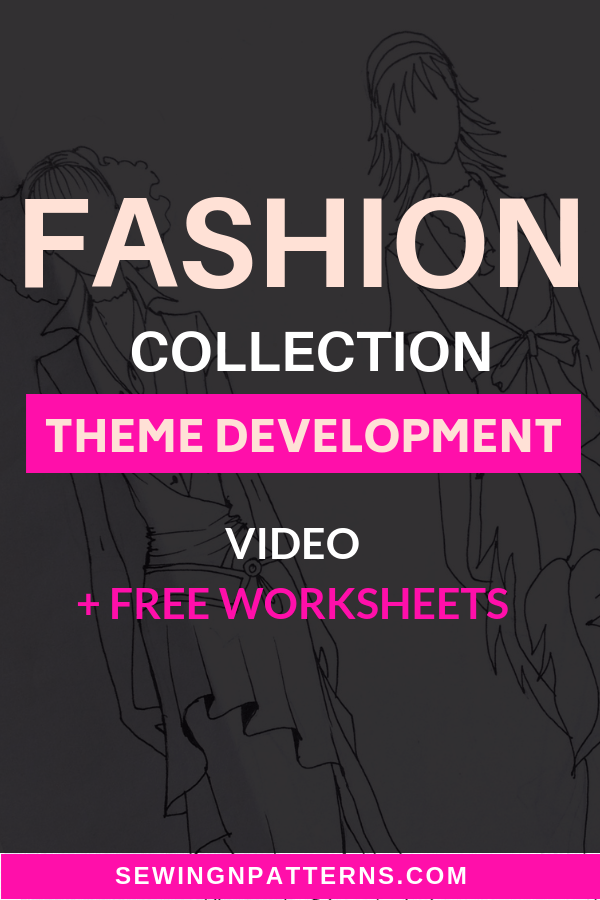 Click here to learn unique technique that helps you develop unlimited fashion collection themes. If you are a fashion designer or a beginner who want to learn how to make a clothes line, this will be so helpful resource that you can't find in any fashion design school. Grab your FREE worksheets and Fashion templates and watch the video on how to use them right now! #clothesdesign #fashiondesign #fashioncollection #fashioninspiration #sewingforbeginners #fashiondesigners
