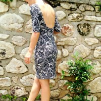 Faux Lace Nettie Dress
