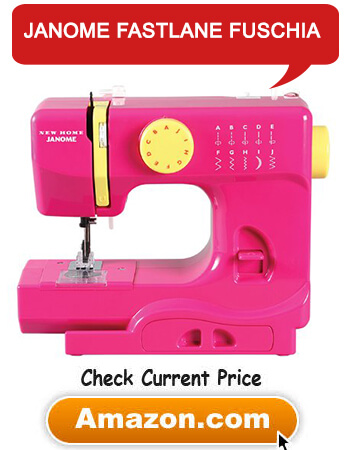 Sewing Machine Janome Fastlane Fuschia Basic
