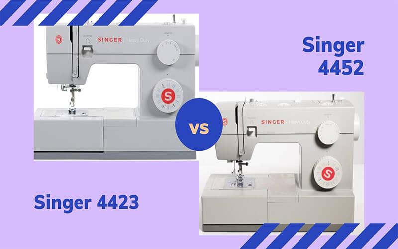 4423 vs 4452 singer sewing machine