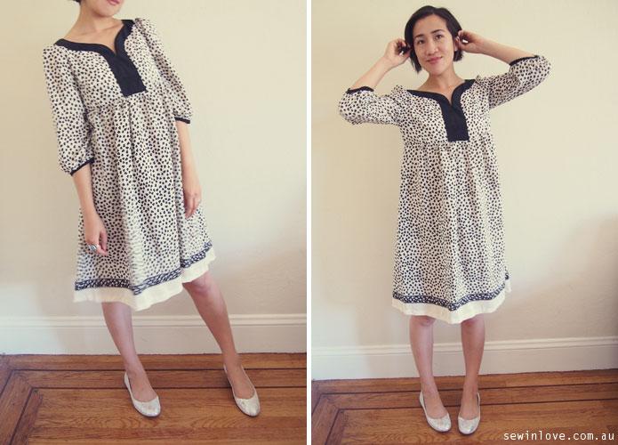Japanese Sewing Pattern Stylish Dress Book 1: Dress T