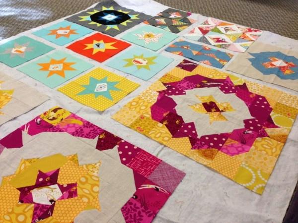 sewkatiedid/Stitch and Flip Triangle workshop