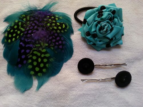 Hair accessories from Sew.Knit.Create