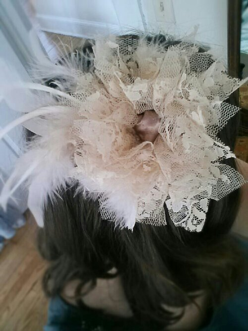 fascinator by Sew.Knit.Create