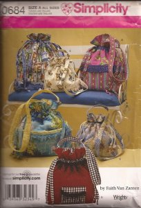 Simplicity Hand Bag Pattern #0684