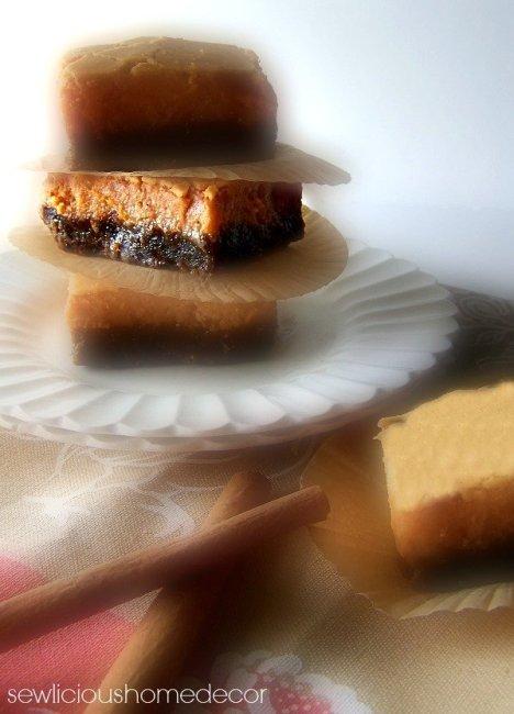 pumpkin pie gingerbread bars