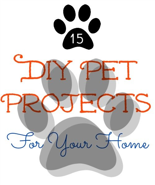 15 DIY Pet Projects Beds and Recipes sewlicioushomedecor.com
