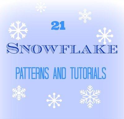 21 snowflake tutorials
