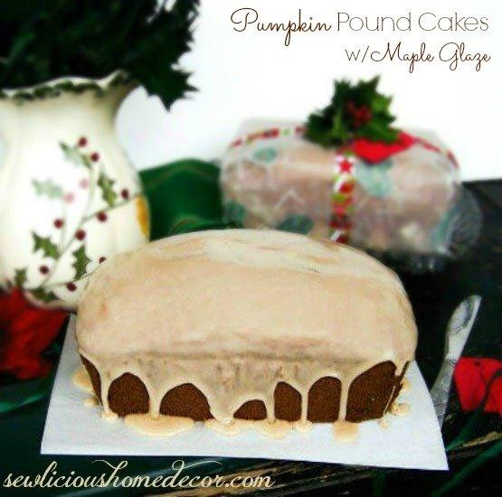 Pumpkin-Pound-Cakes-with-Maple-Glaze