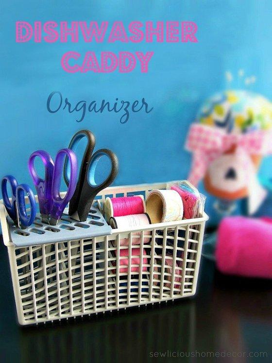 Dishwasher Caddy Organizers sewlicioushomedecor.com