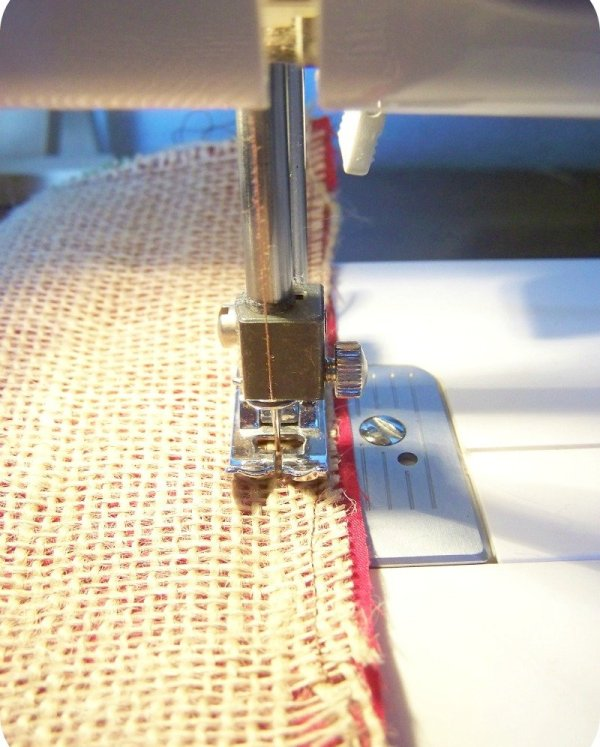 sew on lining