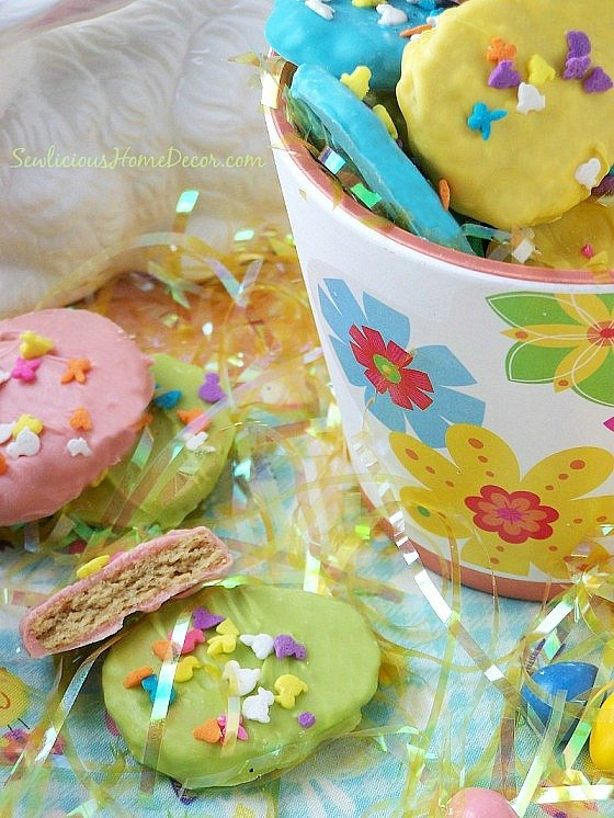 #Easter-Egg-Peanut-Butter-#Cookies