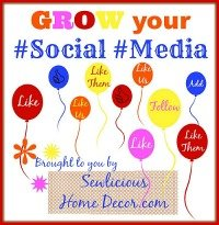 Grow your #social #media party button