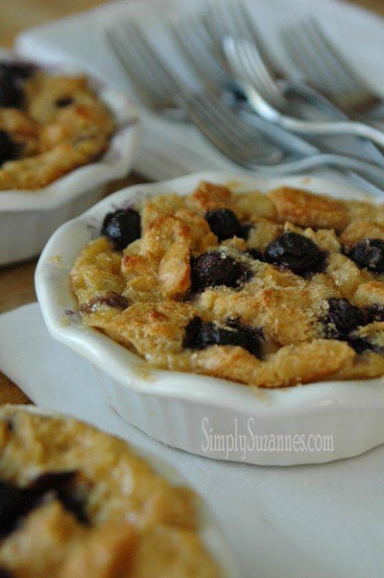 lemon blueberry bread pudding 8-2