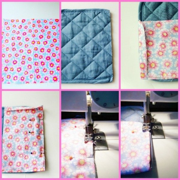 Pot Holder Sewing Organizer Tutorial