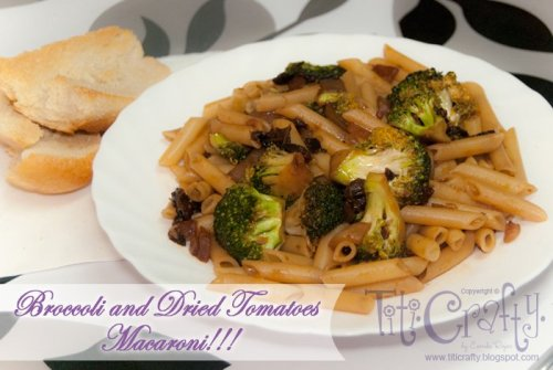 Broccoli-and-Dried-Tomatoes-Macaroni