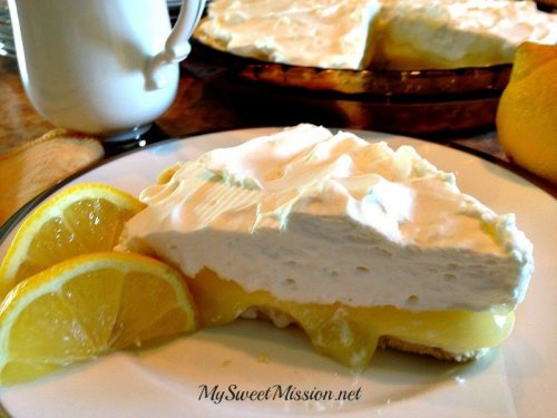Lemon Supreme Shortbread Pie 3