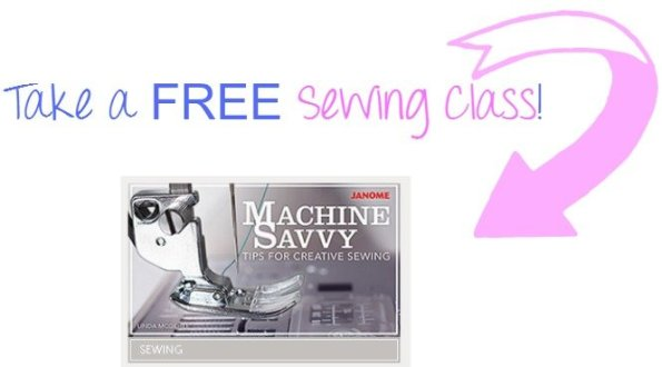 Free Sewing Class Machine Savvy Tips for creative sewing at sewlicioushomedecor.com