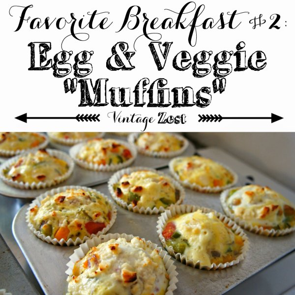 Easy Egg & Veggie Muffins 1