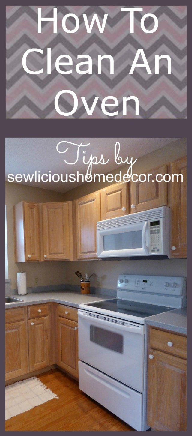How To Clean An Oven Tips by sewlicoushomedecor.com