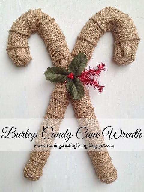 50 Burlap Christmas Decorations - SewLicious Home Decor