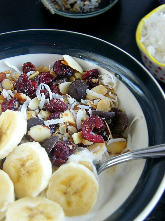 Yogurt Granola Bowl sewlicioushomedecor.com
