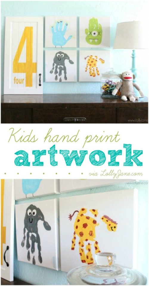kids-hand-print-artwork