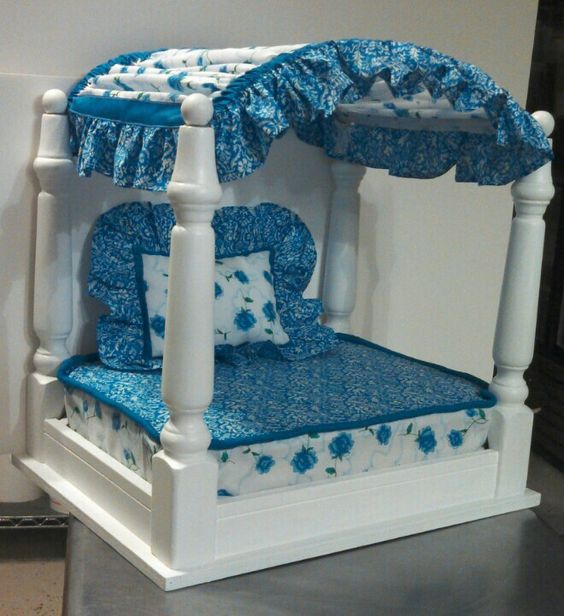 canopy cat bed
