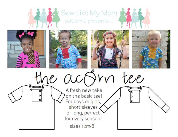 Sew Like My Mom | Acorn Tee
