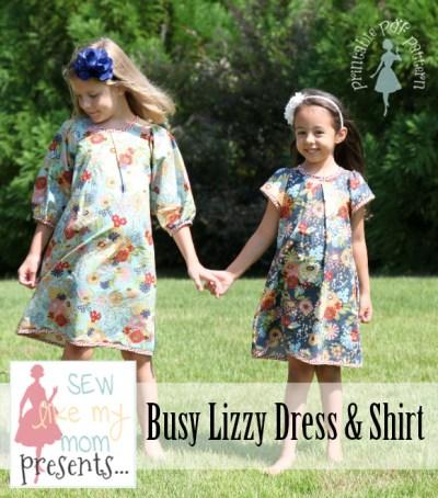 Sew Like My Mom | busy lizzy pattern