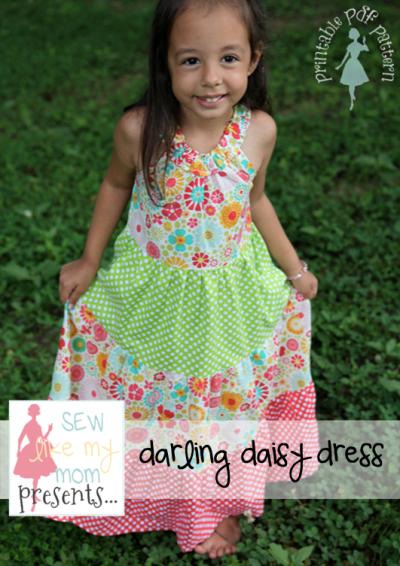 Sew Like My Mom | Darling Daisy pattern