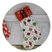 Sew Like My Mom | Christmas Stockings Tutorial