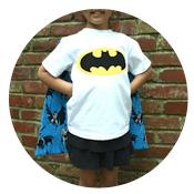 Sew Like My Mom | Cape Shirt Tutorial