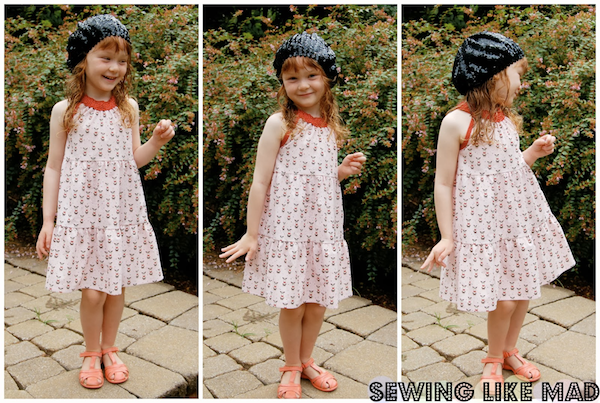 Sewing Like Mad   Darling Daisy Dress Review