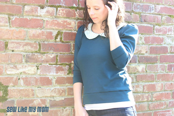 Sew Like My Mom | Parisian Top