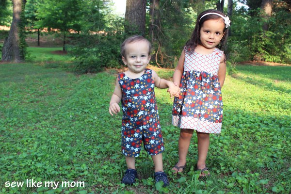 Sew Like My Mom | Kudzu Romper Week