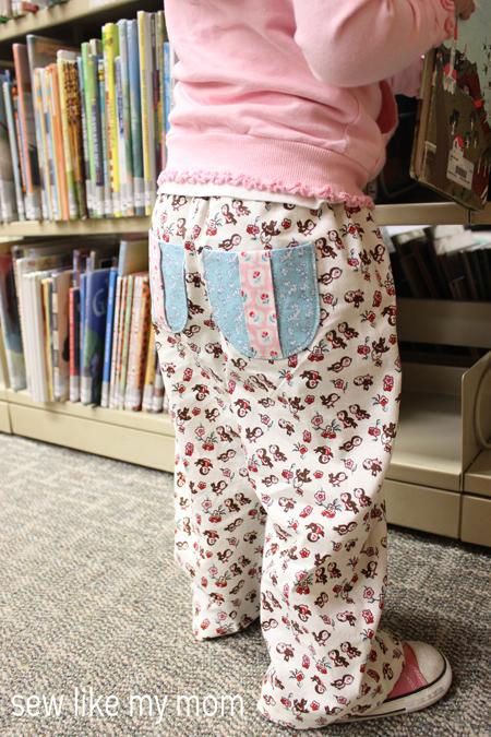 Pine Cone Pants | Sew Like My Mom