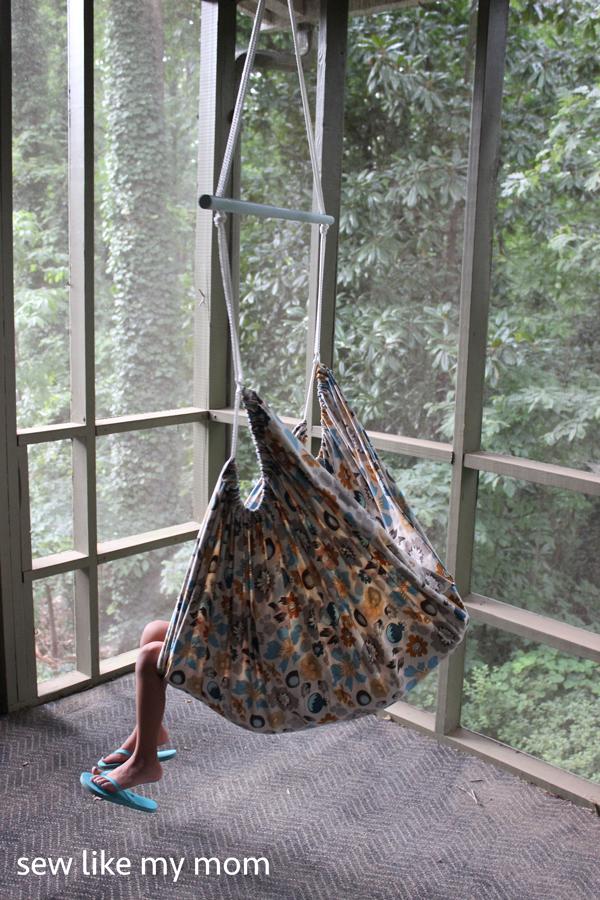 Sew Like My Mom | Hammock Chair