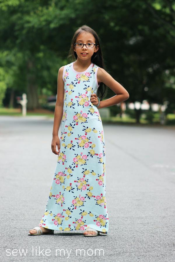 Sew Like My Mom   Dogwood Dress