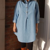 McCalls 6885: DIY Denim Tunic Dress
